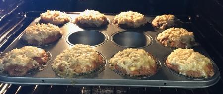 Baked Lumberjack Cupcakes