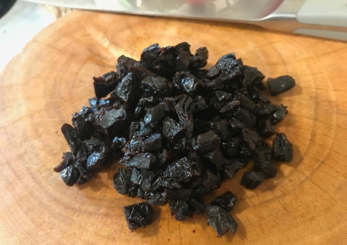 chopped prunes