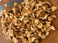 chopped dried apples