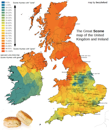 Scone Map