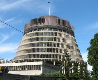 The Beehive - Home of NZ's Parliament